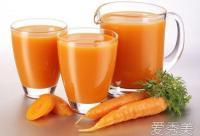 胡萝卜汁做面膜的方法介绍!