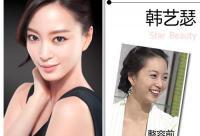美女的诞生靠整容?韩国女星整容位置大揭秘