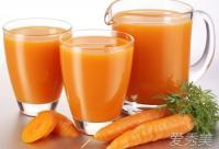 7个祛黄褐斑偏方:胡萝卜汁+热敷面霜