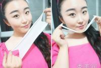 美容达人亲身示范 面部按摩+瘦脸工具用法