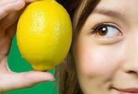 柠檬美白+排毒 外敷口服养颜用法