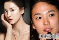 韩国女星整容也无用 素颜皮肤差眼睛小